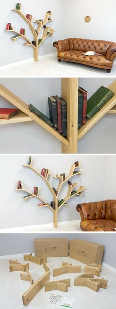 Check out the Hazel Tree Bookshelf @istandarddesign