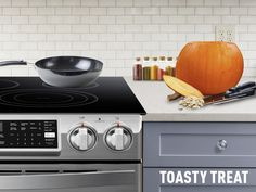 5 burners means 5 ways to toast pumpkin seeds for small snacks with big fall flavor. What's your specialty?