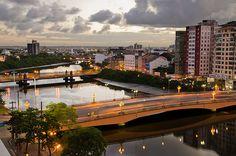 Ponte Duarte Coelho e Ponte da Boa Vista    Duarte Coelho and Boa Vista Bridges (Recife, Brazil)