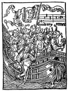 """Sebastian Brant, """"Das Narrenschiff"""", 1494"""