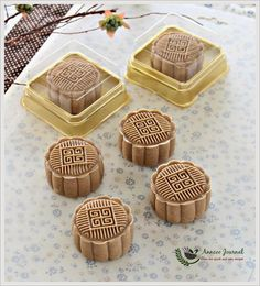Coffee Mooncakes ~ Gastronomy of the World