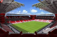 Estadio libertadores de América is the home of Club Atlético Independiente. One of the most successful football teams in South America. Find more best places to watch the World Cup in Argentina: http://pin.it/TG9JpcY