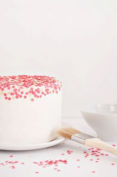 Confetti Cake Tutorial   Sprinkles for Breakfast http://ibaketoday.blogspot.com