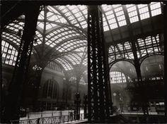 Interior of Penn Station, Manhattan | Photo by Berenice Abbott