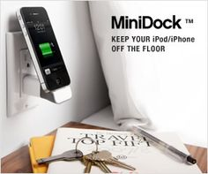 This site has great iphone docks and chargers