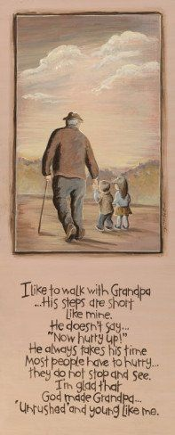 Grandpa and me - For Papa Chris for Father's Day. Have Jo draw a picture of Papa, Kory, and her! Grandpa Birthday Gifts, Grandpa Gifts, Grands Parents, Grandchildren, Grandkids, Granddaughters, Grandparents Day Crafts, Be My Hero, Grandma And Grandpa