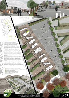 Urbanismo Landscape Architecture Design, Landscape Plans, Architecture Drawings, Architecture Portfolio, Urban Landscape, Presentation Board Design, Architecture Presentation Board, Landscape Drawings, Environmental Design