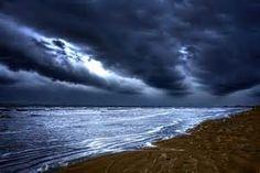 Angry Sky Peaceful Sea Photograph