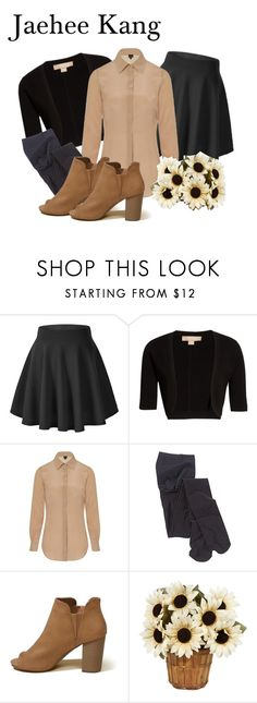 """""""Jaehee Kang Inspired Outfit"""" by raven-writer on Polyvore featuring Michael Kors, Sophie Cameron Davies and Hollister Co."""