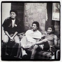 Michael, Jackie, Randy
