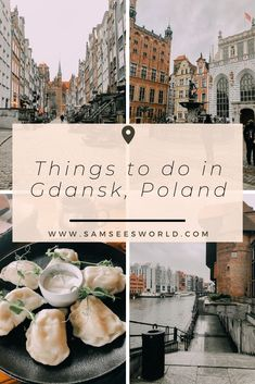 Read here all the top things to do in Gdansk to make your visit the best it can be. Experience all of this beautiful Polish city from the Old Town to the Food and beyond. Travel Through Europe, Europe Travel Guide, Europe Destinations, Travel Around The World, Holiday Destinations, Travel Guides, Cheap European Cities, European Travel, Danzig