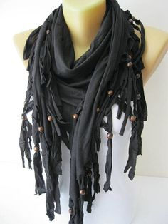 Black Scarf Shawls-Scarves-gift Ideas For Her Women's