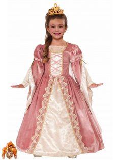 Костюм Принцесса Викторианская Роза детский