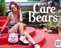 Collection Carebears x Ironfist disponible sur www.belldandy.fr #bisounours #carebears #kawaii #lolita #cute #pastel #pastelgirl