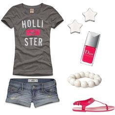 Holister P, created by missty460 on Polyvore