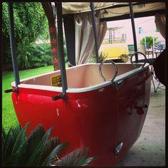 Skyway bucket in my clients backyard!! Amazing!