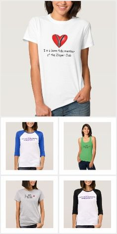 Heart Attack Ladies T-shirts