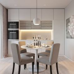 Exceptional kitchen style are readily available on our web pages. Kitchen Room Design, Living Room Kitchen, Home Decor Kitchen, Kitchen Furniture, Kitchen Interior, Room Interior, Home Interior Design, Home Kitchens, Kitchen Dining