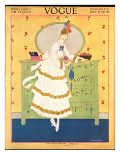 1910's Vogue Covers Posters at the Condé Nast Collection