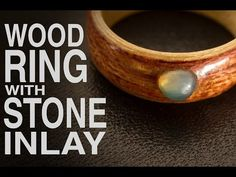 Recently a friend ordered a ring of two contrasting wood species (Bubinga and Birch) with a Green Jade inlay. In this video i'll show you how I make this typ. Copper Wood, Wood Resin, Wood Rings, Stone Rings, Sea Glass Ring, Barrel Rings, How To Make Rings, Diy Rings, Schmuck Design