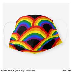 Pride Rainbow pattern Cloth Face Mask Lesbian Pride, Rainbow Pride, Shape Of You, Sticker Shop, Clothing Patterns, Sensitive Skin, Face Masks, Snug, First Love