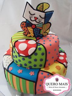 Cat Cake from Romero Brito- Que????? Brito no please!!! jajajja