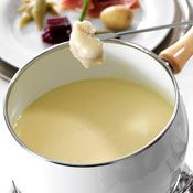 Swiss Gruyere Fondue, Recipe from Cooking.com; I forget about fondue - dunno why, it is delish!