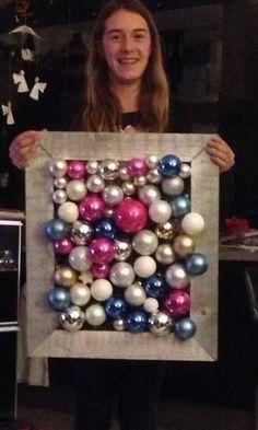 Kerstschilderij Ornament Wreath, Ornaments, Magic, Wreaths, Christmas, Decor, Art, Yule, Decoration