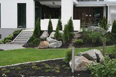 Asuntomessut 2012 by Mari Outdoor Spaces, Outdoor Living, Outdoor Ideas, Backyard Ideas, Garden Ideas, Garden Inspiration, Outdoor Gardens, Interior Decorating, Sidewalk