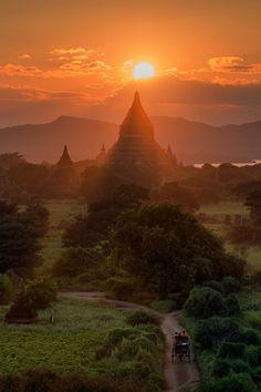 Bagan, Burma - TownandCountrymag.com
