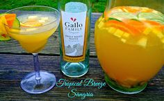 "The Weekend Gourmet: Gallo's ""Every Recipe Tells a Story"" #SundaySupper...Featuring Tropical Breeze Sangria"