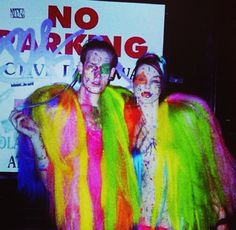"""Cody_baugh and jessicaLove  At Susanne Bartsch's weekly Event at Marquee """"Catwalk"""""""