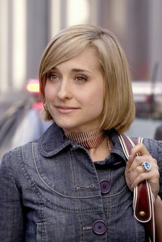 Allison Mack in Smallville. The reason our dog is named Chloe and one of my favorite characters ever.