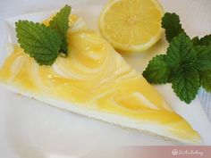 Deserts, Lemon, Pudding, Sweets, Cookies, Ethnic Recipes, Food, Kuchen, Crack Crackers