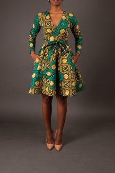 The Diane Wrap Dress – Zuvaa