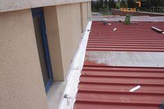 Projecto AERLIS Carregado | Impermeabilização de cobertura - Aplicação de tela betuminosa em cobertura de edifício com problemas de infiltrações