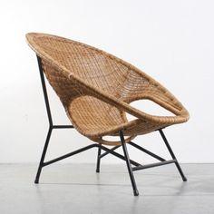 Located using retrostart.com > Lounge Chair by Dirk van Sliedregt for Jonkers