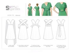 Best 12 Versa Convertible Infinity Bridesmaid Dress In Lustrous Jersey Tutorial – SkillOfKing. Infinity Dress Ways To Wear, Infinity Dress Styles, Infinity Dress Bridesmaid, Bridesmaid Dresses, Infinity Dress Tutorial, Shweshwe Dresses, Multi Way Dress, Convertible Dress, Dress Tutorials