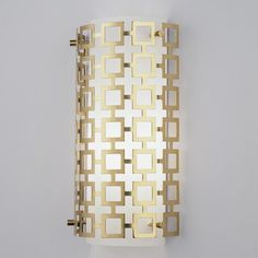 Jonathan Adler Grid Wall Sconce $179 - Shades
