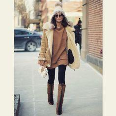 #GiovannaBattaglia Giovanna Battaglia: Yes I was very cold ;-)