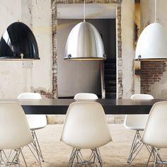 Lampa wisząca Mini Cone by Leitmotiv Design - 2996592127 - oficjalne archiwum Allegro Cool Lighting, Modern Lighting, Interior Decorating Styles, Interior Design, Patio Design, House Design, Grande Lampe, Home Decoracion, Suspension Metal