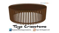 Mesa de Centro Dodoma - ARTEFACTO - 3D Warehouse