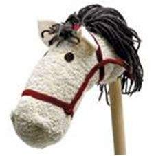 Craft inspired by Disney's Rapunzel Film, Tangled - Make your own Maximus hobby horse   Really Kid Friendly