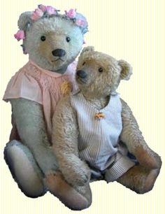 Les ours d'Aline Cousin, créatrice d'ours en peluche de mohair,ours d'artiste