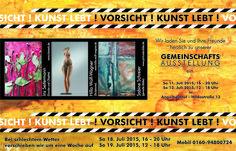 Bereits zum 4. mal wird der Garten in der Hildastraße 13 in Angelbachtal zur Bühne für die Kunst