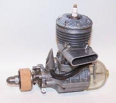 Vintage 1948 Anderson Spitfire 65 Spark Ignition Model Airplane Engine | eBay