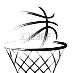 Basketball, vector. Stock Photo - 31510489