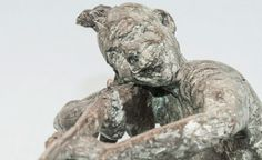 Sioux - escultura en bronce - broze sculpture
