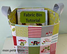 Fabric Bin by courtiepie, via Flickr