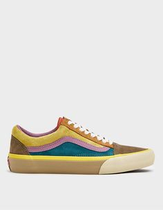 Old Skool VLT LX Sneaker in Multi Womens Size Chart, Shoe Size Conversion, Vans Old Skool, Cotton Lace, Autumn Winter Fashion, Men's Shoes, Lace Up, Footwear, My Style